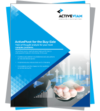 ActivePivot for the Buy-Side